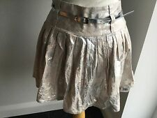 Jane Norman Ladies Short Floral Lined Skirt Size 8. BNWT RRP £32 See Details.