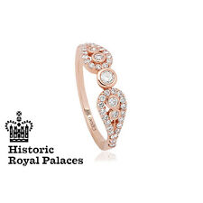 Clogau 18ct Rose Gold Royal Crown Ring **SAVE 50% OFF RRP £2200** SIZE S