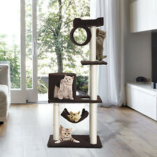 """55"""" Cat Tree Kitty Furniture Toys Condos Posts House Scratching Pet Supply"""