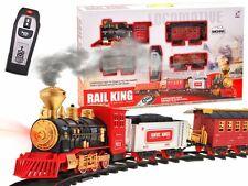 Modelleisenbahn Elektrische Batterie Eisenbahn 3 Waggons 148 x 86cm RAUCH !