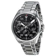 Hamilton H64666135 Khaki Aviation Pilot Swiss Made Chronograph Mens Watch