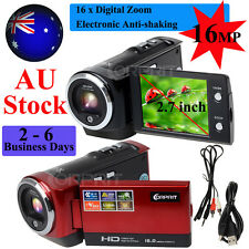 16MP HD 720P Digital Camcorder Camera DV Video DVR 2.7'' LCD 16x ZOOM AU Stock