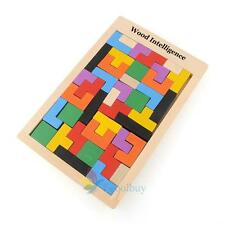 Tetris Montessori Children's Kids Educational Baby Toddler Wooden Puzzle Toy A