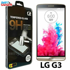100% Genuine Premium Tempered Glass Screen Protector Film For LG G3 D855 D850