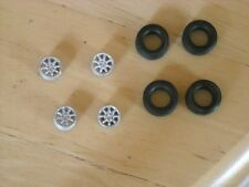 """1/43rd scale Minilite 15"""" wheels with no centre bolt by K&R Replicas"""