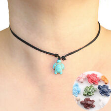 10 Turtle Ceramic Choker Beads Charms Pendant Necklace Jewelry Finding Craft DIY