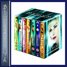 MEDIUM - COMPLETE SERIES - SEASONS 1 2 3 4 5 6 & 7 ***BRAND NEW DVD BOXSET ***