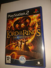 * Sony Playstation 2 Game * LORD OF THE RINGS THE THIRD AGE * PS2