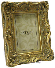 """Shabby & Chic Vintage Very Ornate Antique Gold Photo frame for a 6""""x4"""" Picture"""