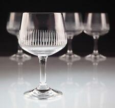 4 Vintage Weingläser Marke Z Zwiesel Liniengravur Weißweingläser Gläser Glas