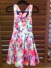 Sunny Girl Womens Floral Print Summer Dress  - Size 8 NEW