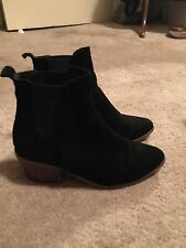 sportsgirl leather suede pointed boots 6