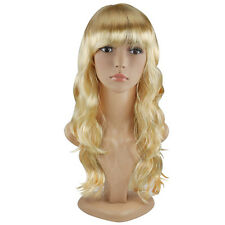 """TRIXES Blonde Wig 20"""" Long Wavy Hair Costume Party Cosplay Fancy Dress"""