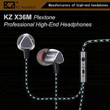 KZ X36M Plextone Pro High-End In-Ear Kopfhörer/Headset OhrhörerHammerbass Silber