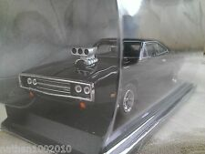 Fast and Furious Dom's 1970 Dodge Charger R/T Diecast Car 1/43 Greenlight