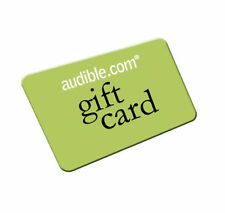 5 Audible.com or UK books of your choice - 5 credits