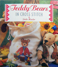 Teddy Bears in Cross Stitch book by Julie Hasler - used