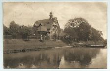Wrocław Breslau Schlesien, Eingang z. Zoologischen Garten, Oderseite gel. 1911