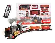 Modelleisenbahn Elektrische Batterie Eisenbahn 3 Waggons 213 x 120 cm RAUCH !