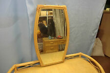 75x45 CANE OVAL WALL MOUNTABLE MIRROR, AMAZING, GREAT VALUE, FREEpp, MUST SEE!