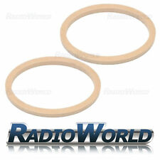 """6x9"""" 6 x 9 MDF Speaker Adapter Spacer Mounting Rings 18mm Thick Oval Pair"""