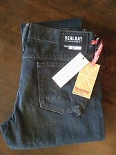 Seal Kay cropped womens blue jeans 26' 28L