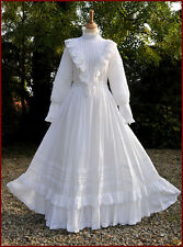 Vintage Laura Ashley Gown/Wedding Dress Edwardian Style Immaculate