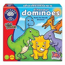 """Orchard Toys 353 """"Match The Friendly Dinosaur"""" Dominoes Game"""
