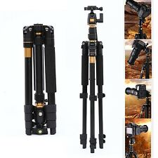 Portable Folding Camera Tripod Monopod Ball Head For Canon Sony Nikon DSLR SLR