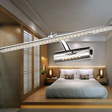 7W LED Wall Picture Front Mirror Light Strip Bathroom Lamp 200V-240V w/Switch UK