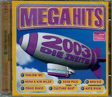 MEGAHITS 2003 - DIE ZWEITE / 2 CD-SET - NEU