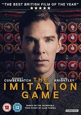 THE IMITATION GAME     BRAND NEW SEALED GENUINE UK DVD