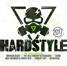 CD Hardstyle 2017 von Various Artists 2CDs