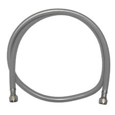 RM replacement hose for monobloc taps. Silver / Grey protective outer