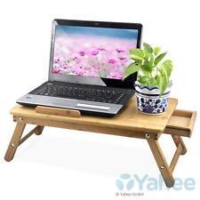 Laptoptisch Betttisch Klapptisch Notebooktisch Pflegetisch Beistelltisch Bambus