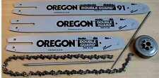 OREGON Schwert + 3 x Sägeketten 3/8 - 1,1mm - 30cm für STIHL Hobby Motorsägen