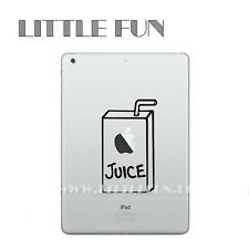 iPad mini Aufkleber Sticker Skin Decal Schutz für iPad mini 1 2 3 Juice box IB02
