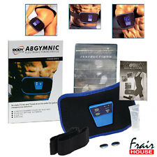 ABS TONER ABGYMNIC BELT AB MUSCLES TONING  GEL WEIGHTLOSS SLIMMING 6PACK