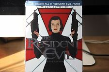 The Resident Evil Collection (Blu-ray Boxset) BRAND NEW..
