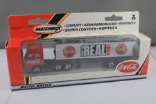 """Matchbox 2001 Convoy Coca-Cola """"Enjoy the Real Thing"""" DAF 3300 Space Cab, As New"""