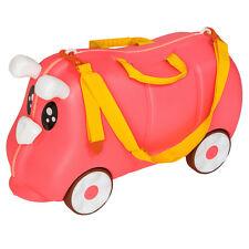 Kinder Koffer Ziehkoffer Rutscher Kinderkoffer Reisekoffer pink B-Ware