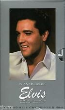ELVIS PRESLEY 25th Anniversary The Definitive Collection: 1977 - 2002 VHS Boxset