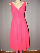 TARGET Red/White High Crossover Bodice DRESS Size 8 New Christmas Red.