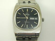 Omega Geneve gents Watch 1973 stainless steel automatic original guarantee