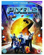 Pixels [Blu-ray] [Region Free] New & Sealed