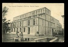 British Cwlth Africa Southern Nigeria Marina LAGOS Factory early PPC