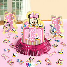 Minnie Mouse 1st Birthday Party Supplies TABLE DECORATING KIT With Confetti