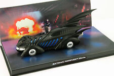 Batmobile Batman Forever Movie 1995 black 1:43 Ixo Altaya