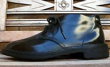 EZYWALKIN Clifton Shoe Co. black leather boots shoes 5½ womens 7½-8 VINTAGE!