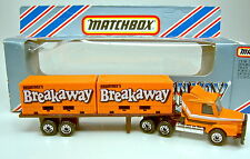"""Matchbox Convoy CY18A Scania Double Container Truck """"Breakaway"""" top in Box"""